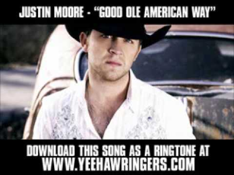 Justin Moore - Good Ole American Way [ New Video + Download ]