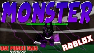 MONSTER CLASS! | ONE PUNCH MAN LEGACY | ROBLOX | iBeMaine