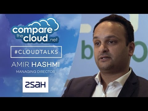 Amir Hashmi of zsah talks to CTC for #CloudTalks