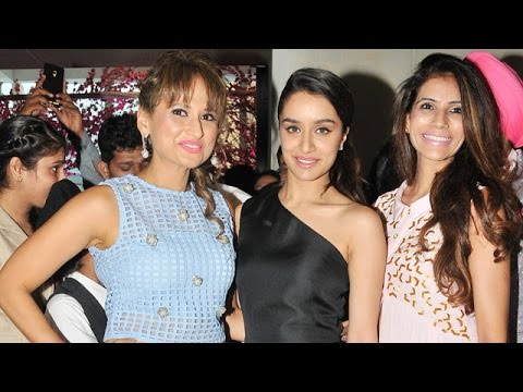 Shraddha Kapoor Inaugurated ABEC's Jewellery Exhibition  2015