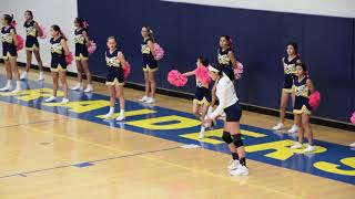 Volleyball - 8th Grade Eastwood Lady Raiders vs Bel Air Lady Warriors (Full Game 2018)