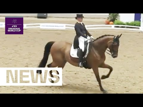 Cathrine Dufour and Bohemian on top | News | FEI Dressage World Cup™ Aarhus