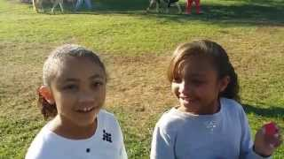 Real Live Pony Ride | The Ciera and Olivia Show | October 25, 2014