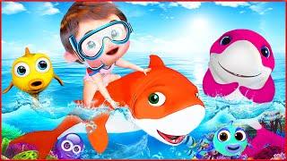 Baby Shark Song , Bingo School Dog Song , ABC Song    Most Viewed Video on YouTube   Banana Cartoon