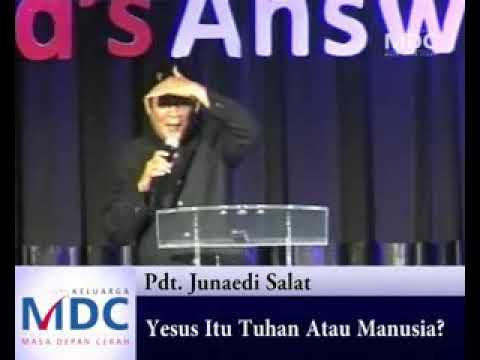 Khotbah Pdt. Junaedi Salat - YouTube