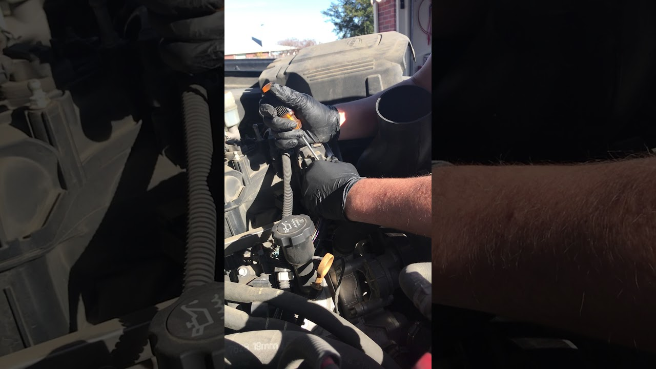 How to replace Throttle position sensor 2010 Chevy Silverado