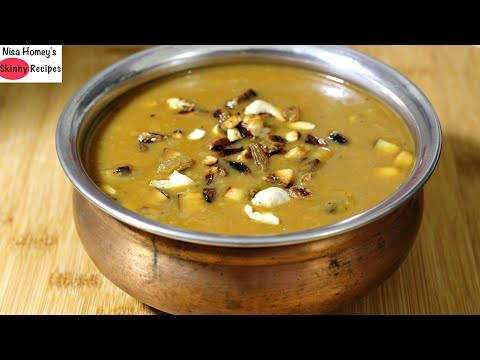 Moong Dal Ka Payasam – Cherupayar Parippu Payasam – Healthy Kerala Recipes – Kerala Vishu Special