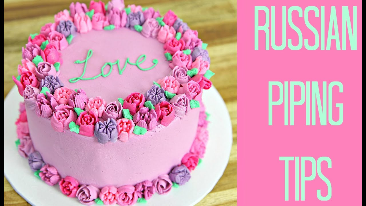 Russian piping tip testing cake style youtube cake style youtube izmirmasajfo
