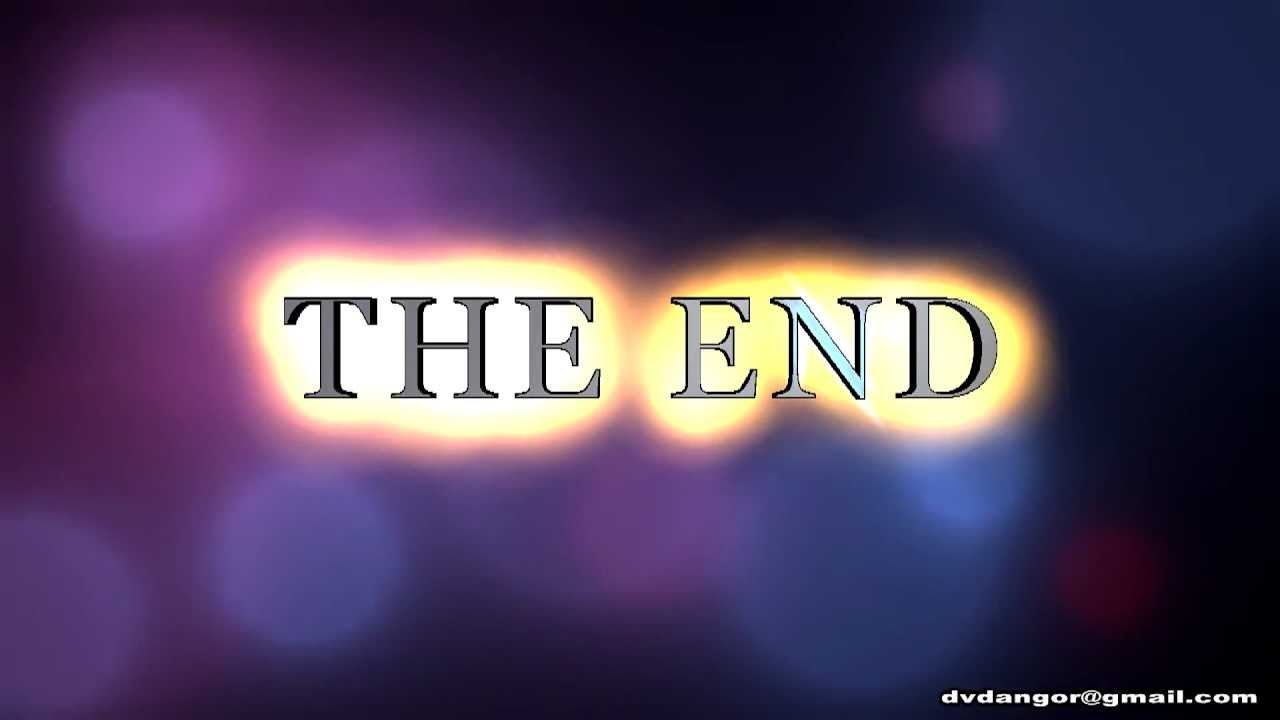THE END - Free Video backgrounds, Footage, Graphics, Effects - YouTube
