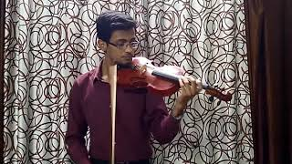 Chhukar mere mann ko (Yaarana) by Mayank Ladha (Violin Instrumental)