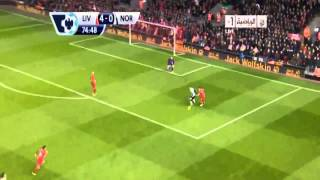 Liverpool Vs Norwich City ( 5 - 1 ) / Luis  Suárez Super Hattrick ! Premier League 4.12.2013