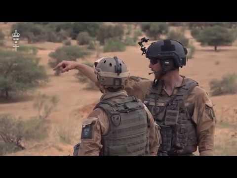Spaningssoldat i Mali
