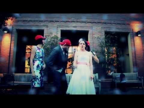 Becki & Gaz 'Rollin' - Best Rock Wedding Video Ever!
