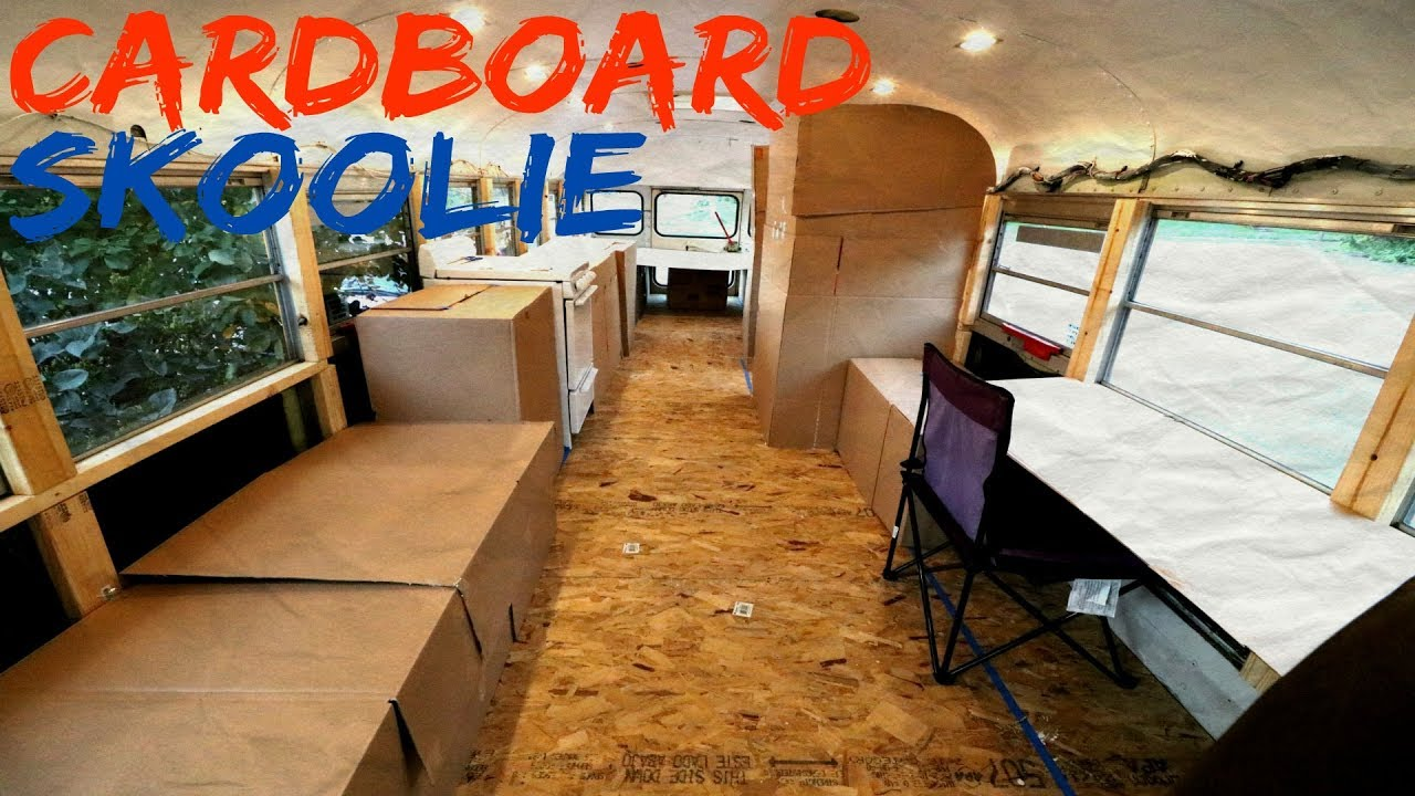 Building Skoolie In Under 24 Hours Youtube