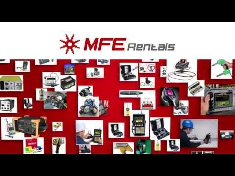 NDT, RVI, Environmental Inspection Equipment—MFE Rentals Overview