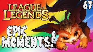 League of Legends Epic Moments - Superman, Five is Easy, Dodge As A Team