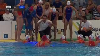 Netherlands - USA -  Spido Dutch Waterpolo Trophy Rotterdam 2018 | Waterpolo