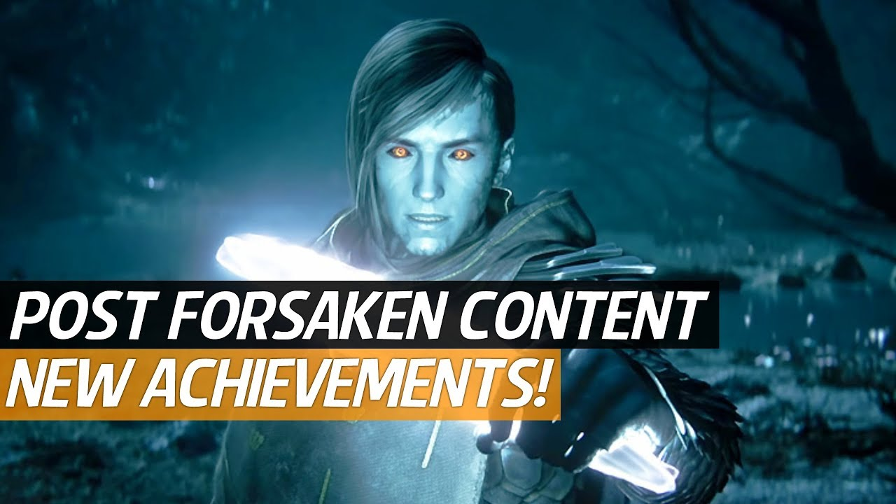 707232d3c1e Destiny 2 Forsaken News - New Achievement Trophy s
