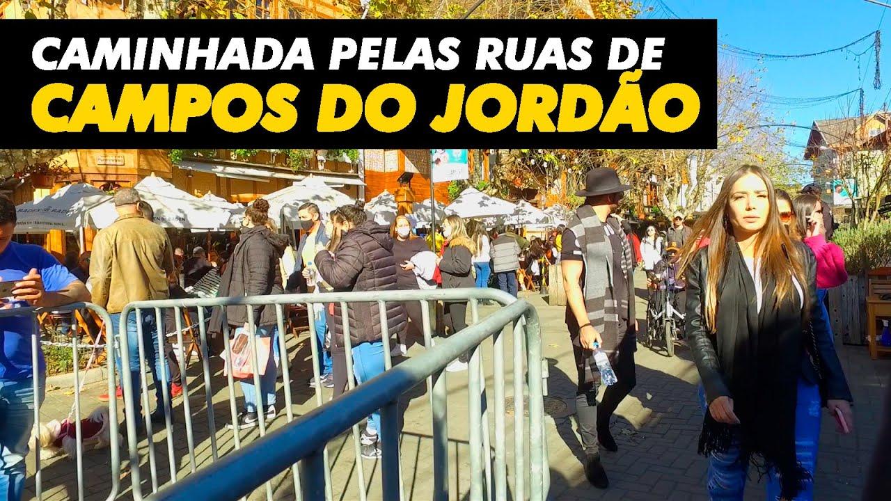 CAMINHADA PELAS RUAS DE CAMPOS DO JORDÃO