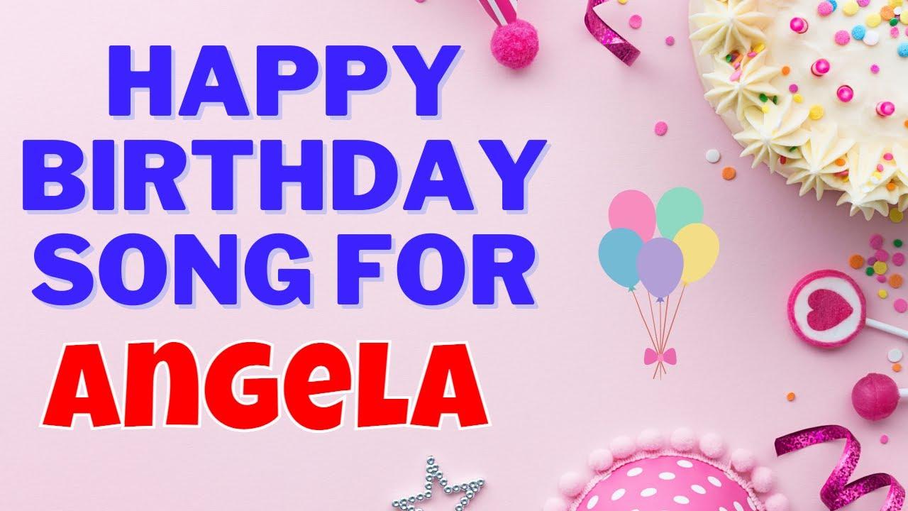 Happy Birthday Song for Angela | Angela Happy Birthday Song Download | Birthday Song for Angela