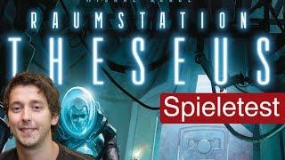Raumstation Theseus (Brettspiel) / Anleitung & Rezension / SpieLama