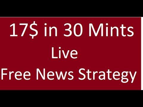 Forex News Trading Live 17% Profit Free Strategy Urdu Hindi