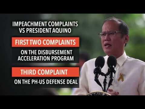 Impeachment raps vs Aquino dead