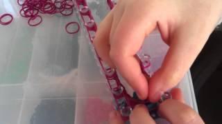 Как сделать перчатку из резинок (часть 2)