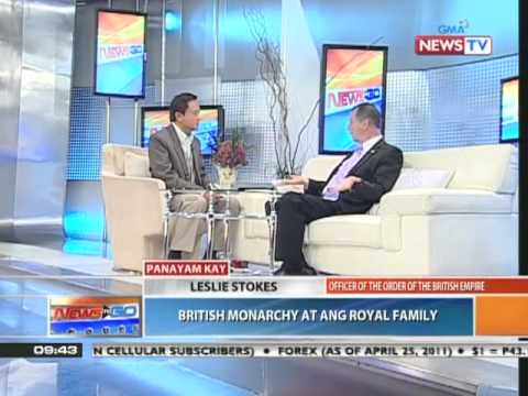 News to Go - Interview with Leslie Stokes about the modern British monarchy 4/26/11