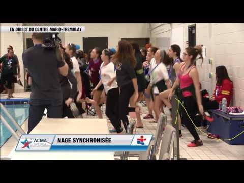Jeux du Québec – 2017 03 03 – Nage synchronise Solo