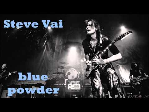 Steve Vai - blue powder (Guitar Backing Track)