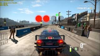 Need for speed Shift 2 Audi RS4 Drag acima de 400 KM/H Standing Mile