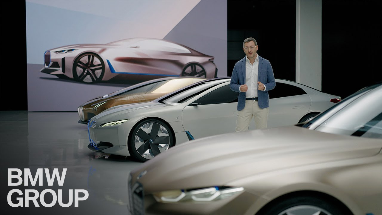 From Vision vehicle to concept car – the first-ever BMW i4