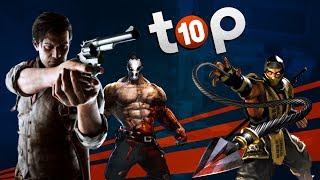 Les 10 jeux LES PLUS GORES   TOP 10