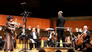 Liana Isakadze - Brahms Violinkonzert in D-Dur, Op. 77 (live)