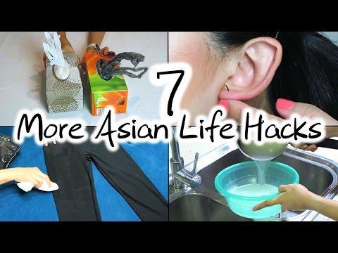 7 More Asian Life Hacks