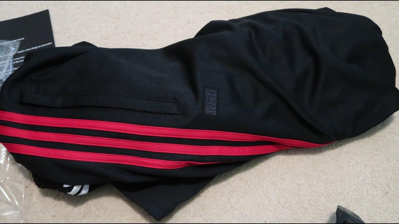 new product 23118 41eb3 Kith x Adidas Soccer Cobras Track Pant PickupUnboxing