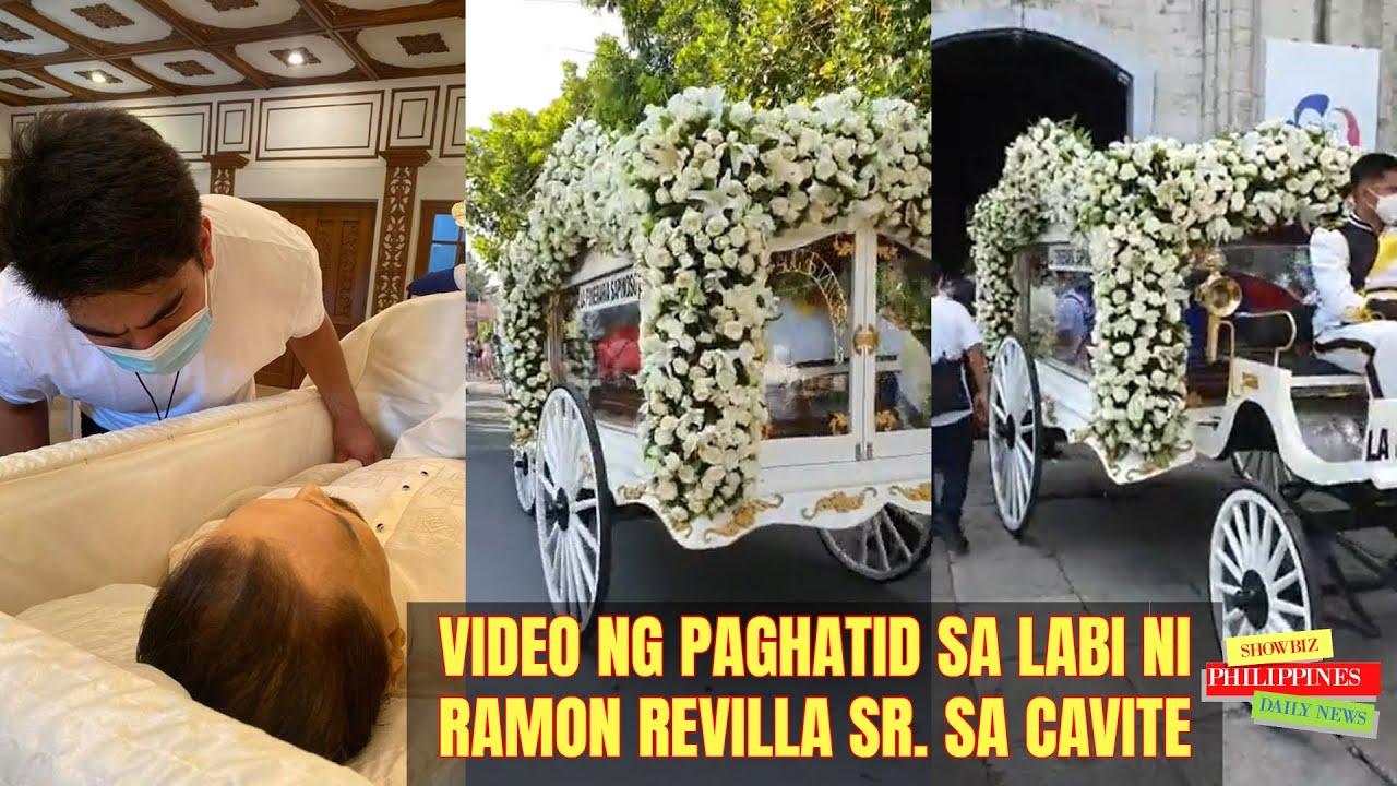 ATAOL ni Ramon Revilla Sr. BINUKSAN at INILAGAK Na sa kaniyang HULING HANTUNGAN