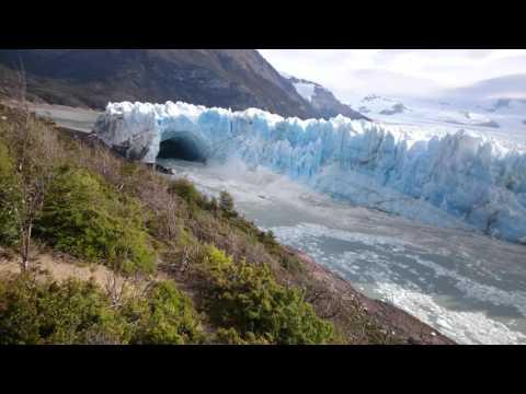 4k Argentina El Calafate glaciar Perito Moreno