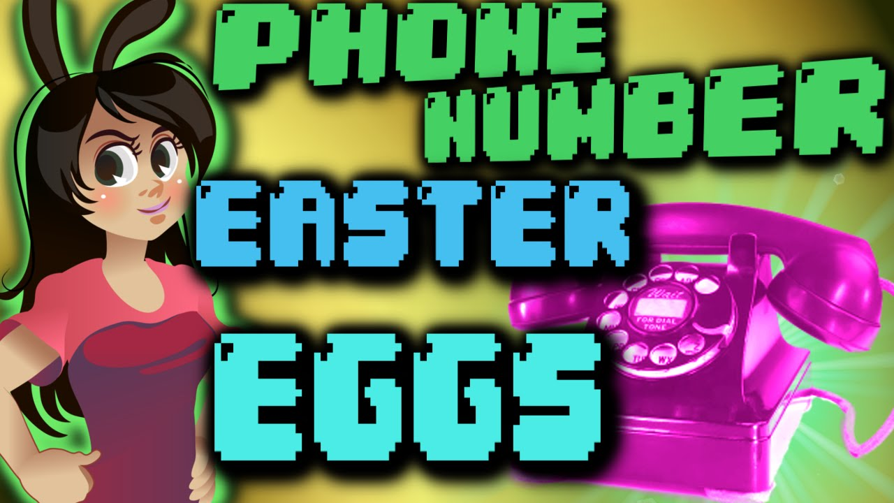Top 6 Phone Number Easter Eggs in Video Games   YouTube Top 6 Phone Number Easter Eggs in Video Games
