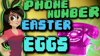Top 6  Phone Number Easter Eggs in Video Games(The top 6 REAL phone numbers in video games that you can call in real life! Games that have real phone numbers: Infamous Second Son, Alan Wake, Kentucky ..., 2015-08-18T14:29:04.000Z)