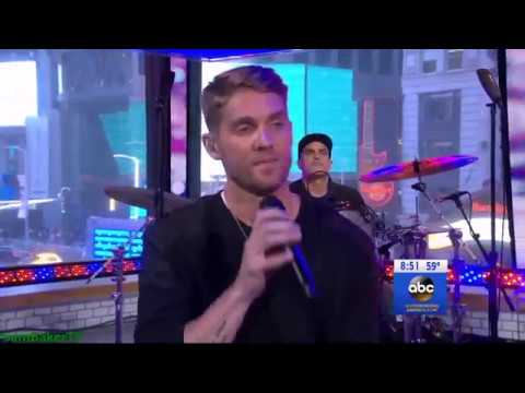 Brett Young performs Mercy  on Good Morning America 23 April 2018