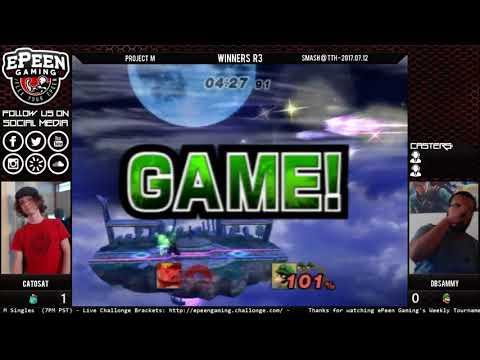 Smash @ TTH - TNS   Catosat (Ivysaur) Vs. DBSammy (Luigi) - Project M (Winners R3)