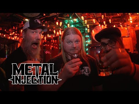 AMON AMARTH Heavy Metal Bar Crawl in New York City | Metal Injection