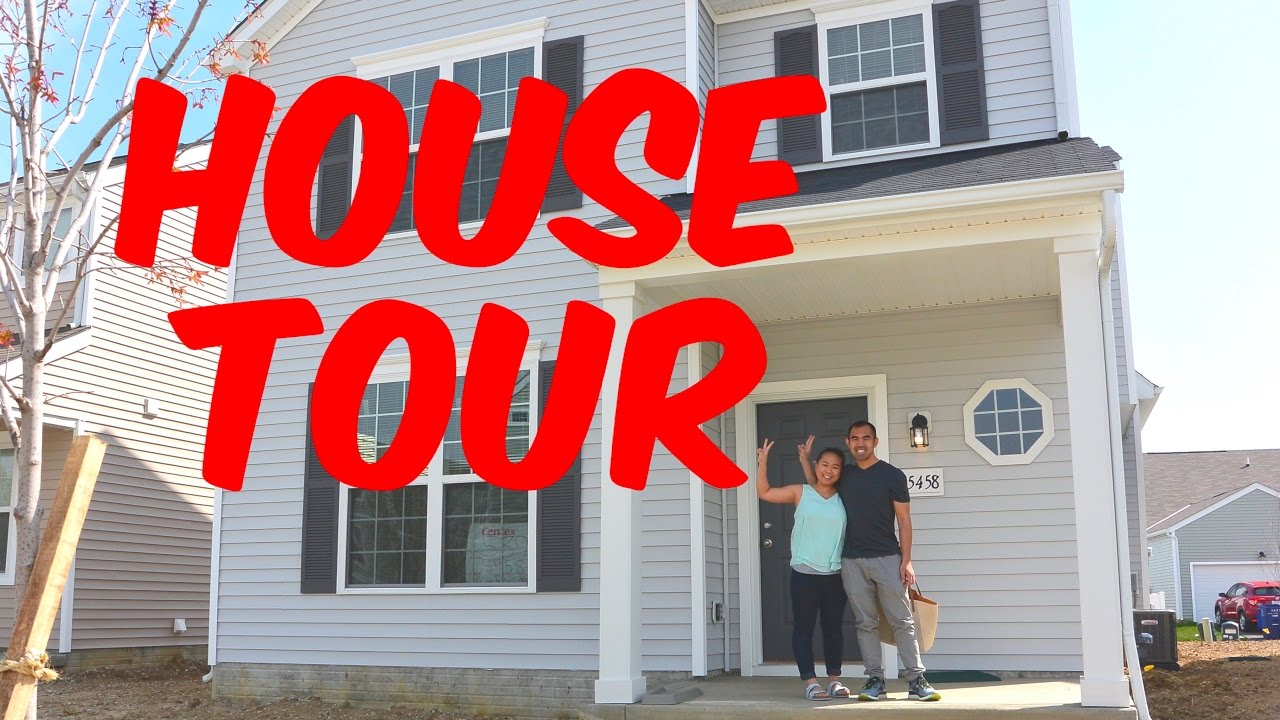 Building Our First Home Update Empty House Tour Youtube