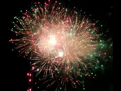 4K Fireworks - Berkeley Heights Finale 2016