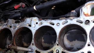 BMW M52tu M54 M56 Blown Head Gasket Fix Engine Block Thread Repair The Easy Way