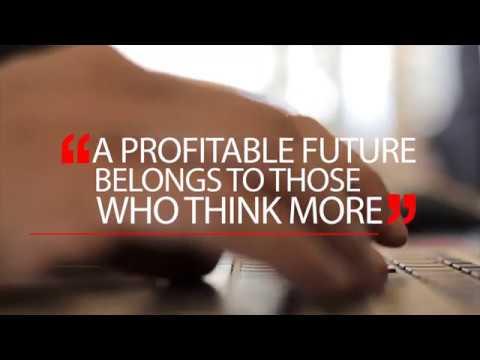 A Profitable Future Belongs To Those Who Think More!