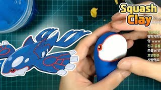 Making Kyogre Legendary Pokemon in Clay