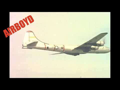 Boeing B-29 Superfortress Flyby (1956)